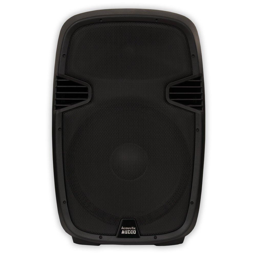Acoustic Audio AA152U Powered 900W 15'' Speaker 2 Way USB MP3 Player