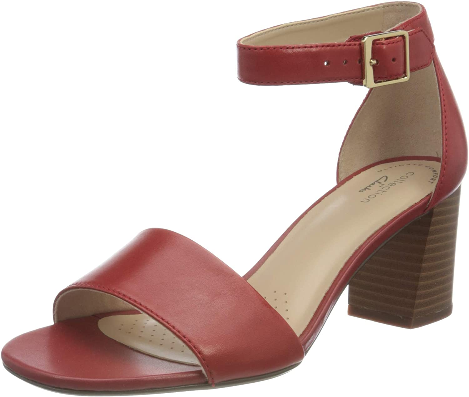 Max 54% OFF Clarks Women's Ankle Miami Mall Strap Sandals