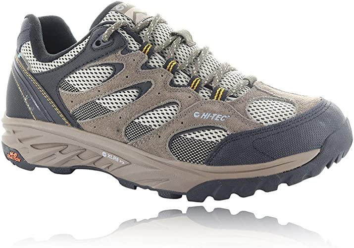 HI-TEC Wild-Fire Low I Waterproof, Zapatillas de Senderismo para Hombre: Amazon.es: Zapatos y complementos