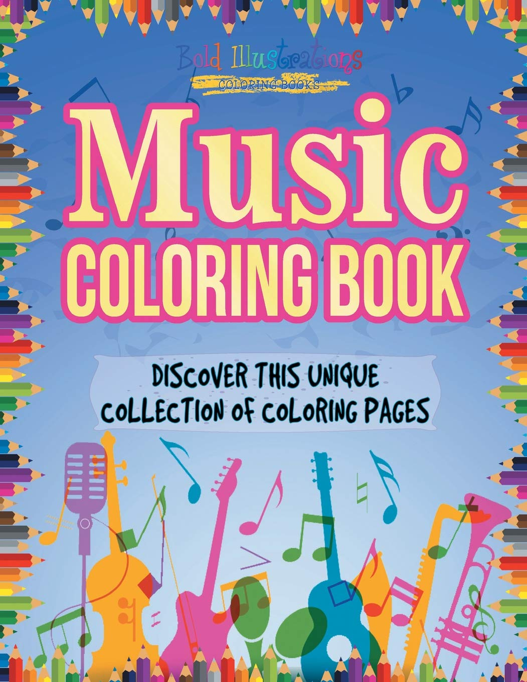 music coloring pages for kids Coloring4free - Coloring4Free.com | 1360x1051