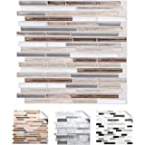 wall crafts 3d mosaik fliesensticker selbstklebend 5 st ck f r k che bad vinyl fliesenfolie. Black Bedroom Furniture Sets. Home Design Ideas