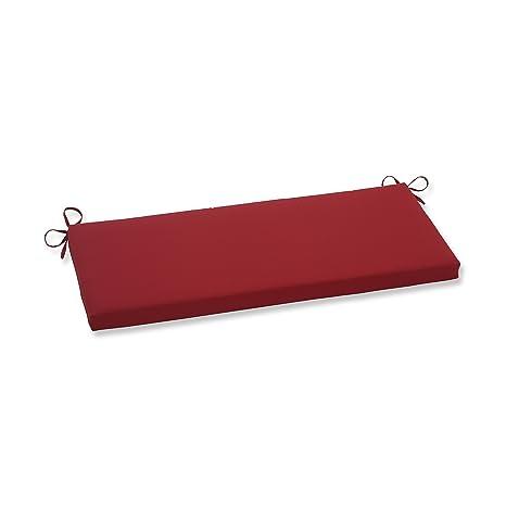 Amazon.com: Cojín de banco de Pompeii, color rojo: Home ...