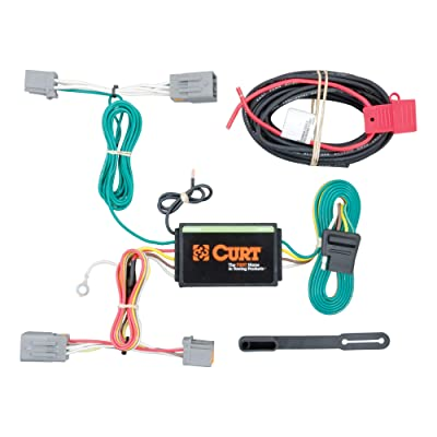 CURT 56224 Vehicle-Side Custom 4-Pin Trailer Wiring Harness for Select Volvo S60: Automotive
