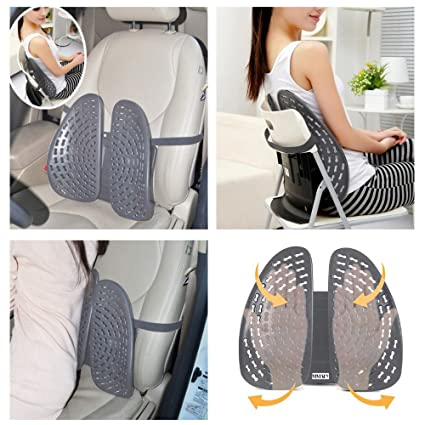 Phenomenal Kawachi Car Seat Back Rest Pad With Lumbar Support Height Adjustable With Ventilation Suitable For Any Home Office Car Chair K366 Caraccident5 Cool Chair Designs And Ideas Caraccident5Info