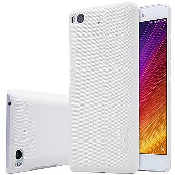 SMTR® Xiaomi Mi5S Funda, Calidad premium Cubierta Slim Armor Funda +1 film Protector de pantalla para Xiaomi Mi5S Smartphone,(blanco)