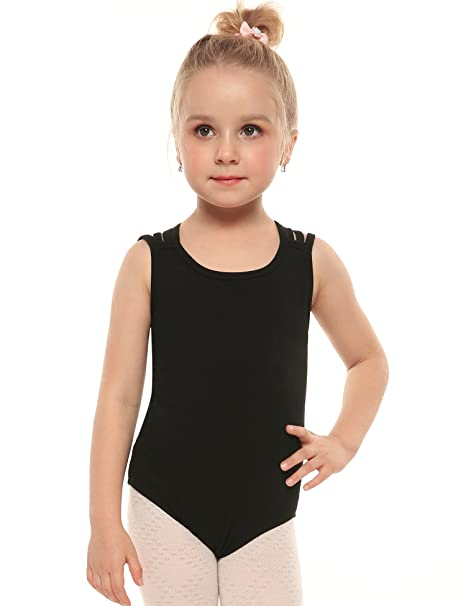 56c9321db Amazon.com  Arshiner Girls  Gymnastic Ballet Dance Tutu Dress ...