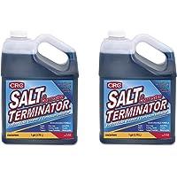 CRC SX128 Salt Terminator Engine Flush, Cleaner and Corrosion Inhibitor - 1 Gallon - 2 Pack