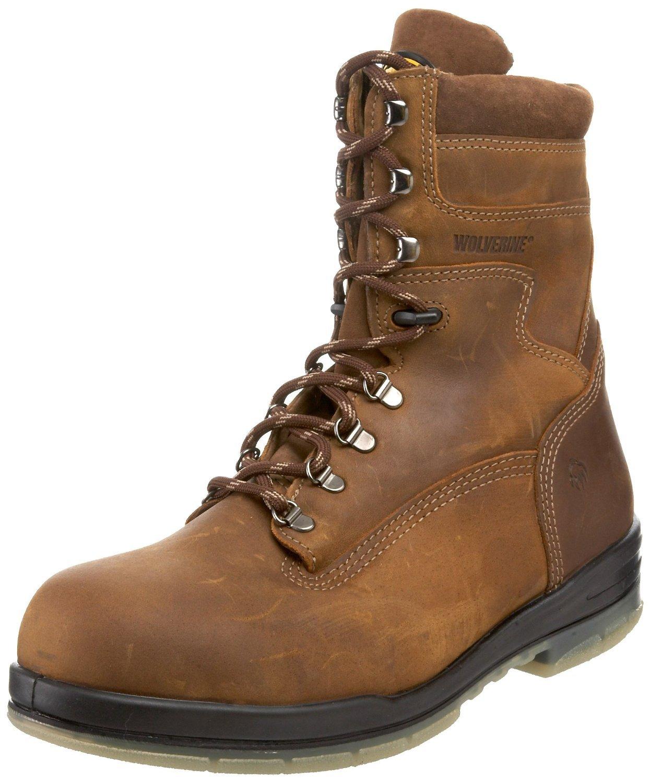 Wolverine Men's W03295 Waterproof Boot,Stone,11 XW US