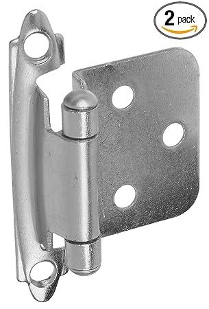 Stanley Home Designs BB8194 Standard Flush Spring Cabinet Hinge, 2 ...