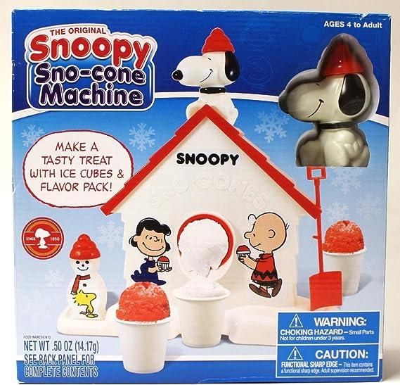 """Slushy Snoopy Snow Cone Maker 11.5/"""" Outdoor play"""