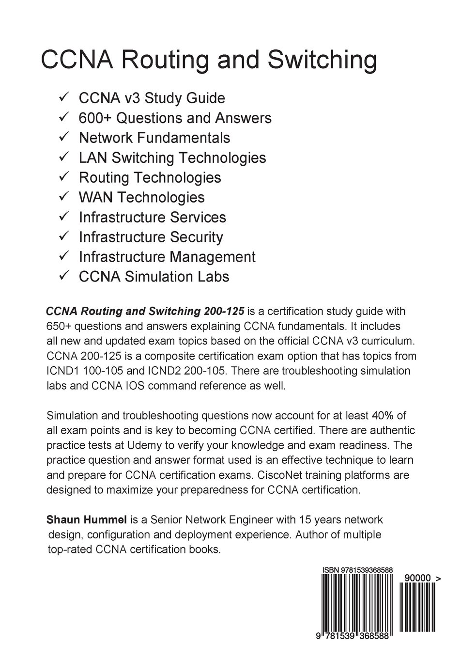 Ccna V3 Routing And Switching 200 125 Ccna Study Guide
