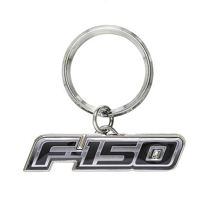 Ford F-150 Logo Metal cadena de clave, clave encanto ...