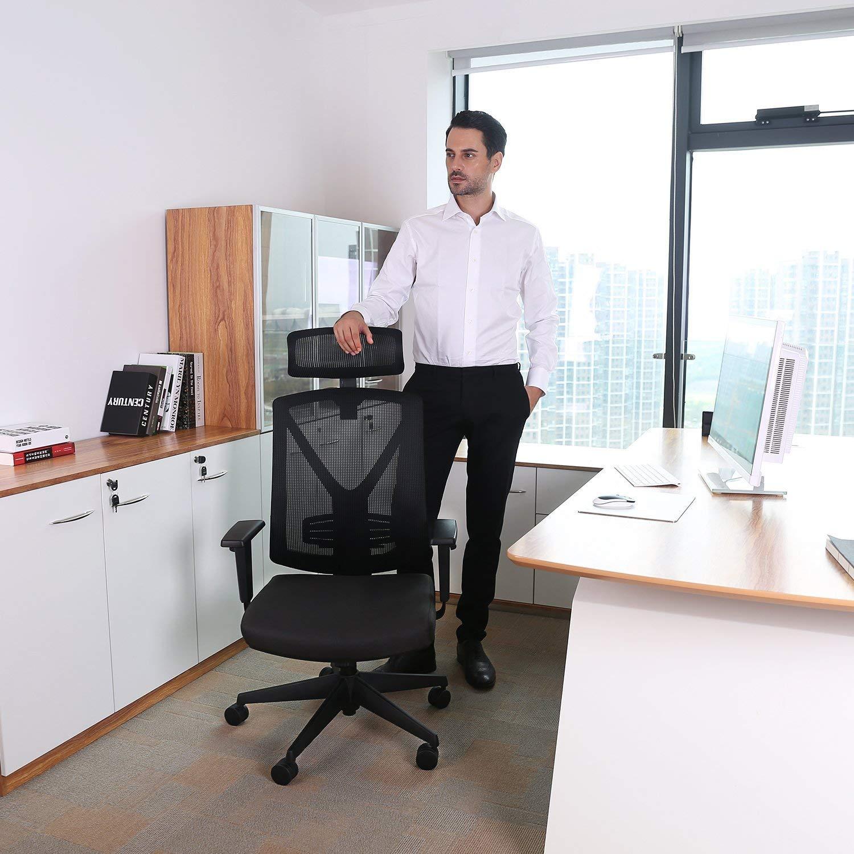 Bürostuhl rückenfreundlich