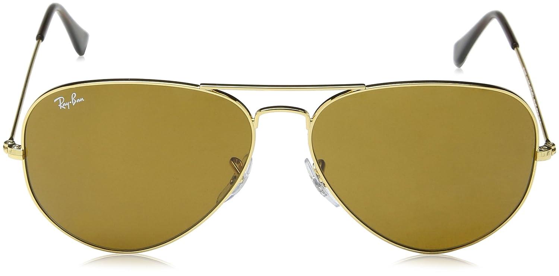 7538e3856edc6 Ray-Ban Gafas de Sol AVIATOR MOD  Amazon.es  Ropa y accesorios
