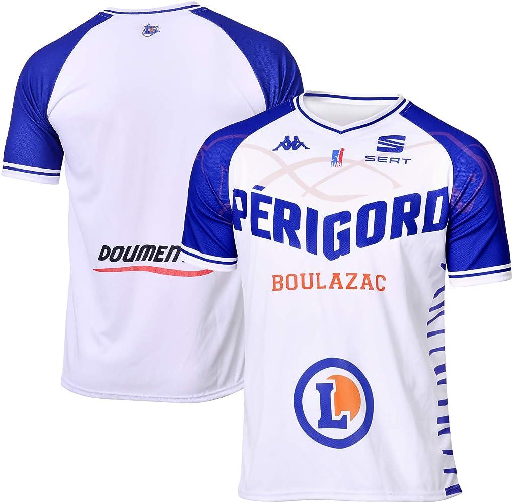 Boulazac Bbd - Camiseta Oficial de Baloncesto 2018-2019, Unisex Adulto, Color Blanco, tamaño Small: Amazon.es: Ropa y accesorios