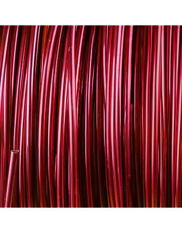 creacraft Beading Wire – Plata Alambre de aluminio, ø 2 mm – 15 M (