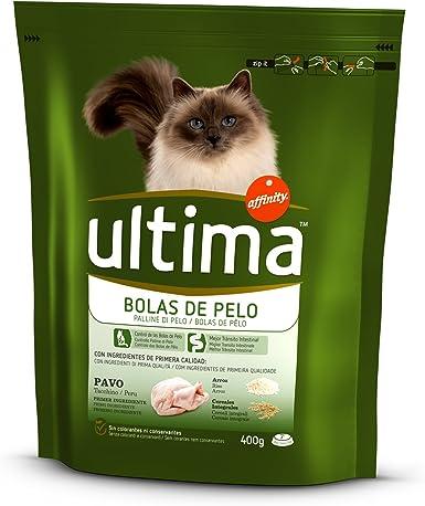 ULTIMA alimento para gatos control bolas de pelo affinity bolsa 400 gr: Amazon.es: Alimentación y bebidas