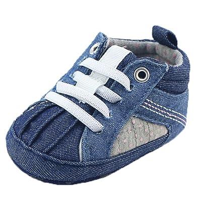 819deb582d2af OHmais Unisex Enfants Chaussure bebe garcon bébé fille premier pas  Chaussure premier pas bébé sandale  Amazon.fr  Chaussures et Sacs