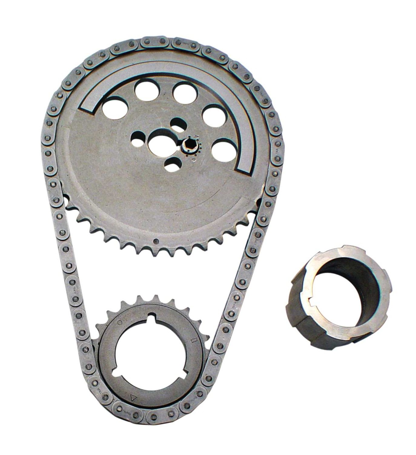 Competition Cams 3158KT Adjustable Timing Set for GM LS Engines, 3-Bolt Cam Gear, 1 Pole Reluctor