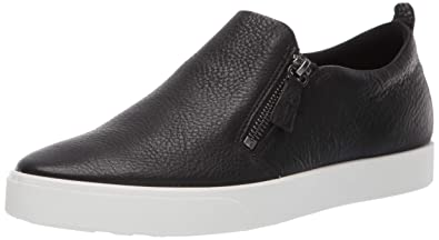 8d731415bd ECCO Women's Gillian Side Zip Sneaker