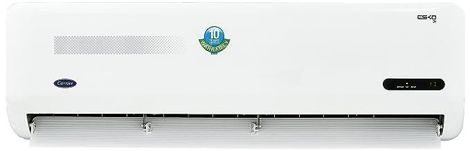 Carrier 1.5 Ton 3 Star Inverter Split AC (Copper, Esko Inverter CAI18EK3C8F0, White)