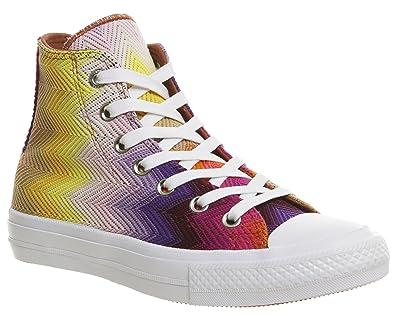 premier coup d'oeil la vente de chaussures meilleur authentique Converse Chuck Taylor All Star II High Missoni Femme Baskets ...
