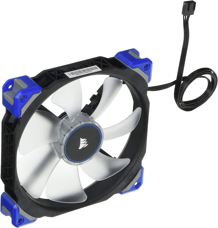 Corsair ML140 PRO Ventilador de PC (140 mm, Levitación Magnética, iluminación LED Azul) Paquete Soltero: Corsair ...
