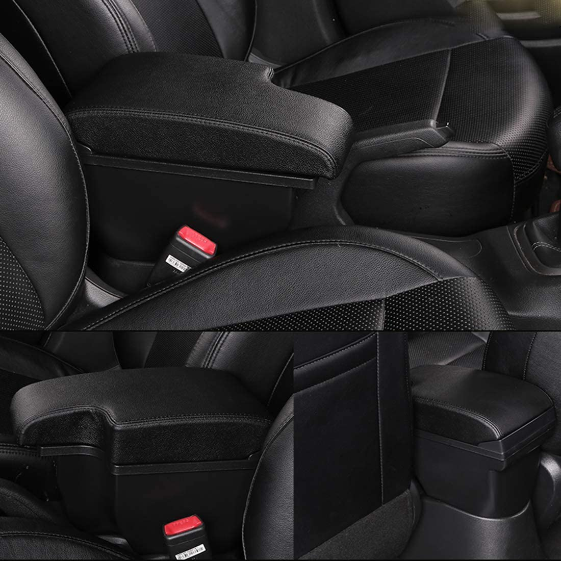 for Nissan Juke Consoles Armrest Box with 3 USB Port