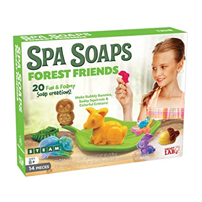 SmartLab Toys All-Natural Forest Friends Spa Soaps Science Toy: Toys & Games