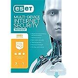 ESET Multi-Device Internet Security Premium | 2021 Edition | 3 Devices | 1 Year | Antivirus Software | Password Manager | Pri