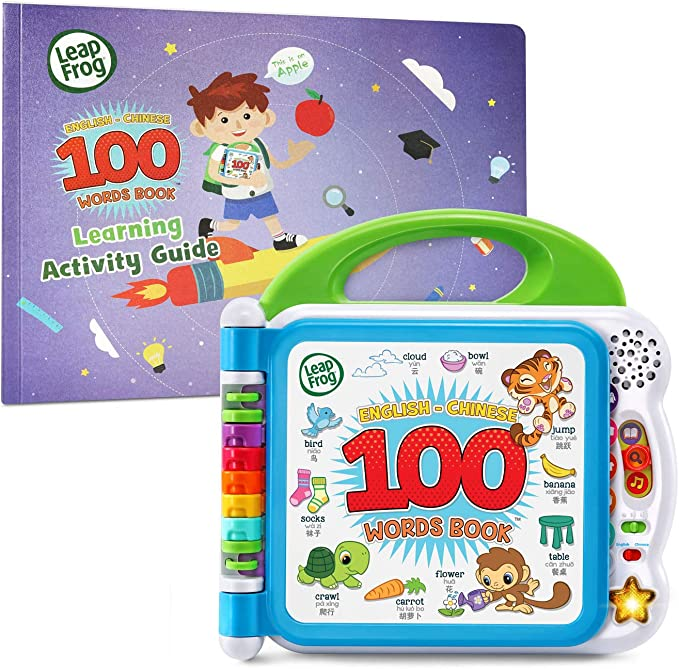 Amazon.com: LeapFrog Learning Friends English-Chinese 100 Words Book with Learning Activity Guide, Amazon Exclusive (Frustration Free Packaging): Toys & Games