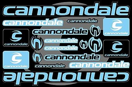 Cannondale - Pegatinas de repuesto para marco de bicicleta (número ...