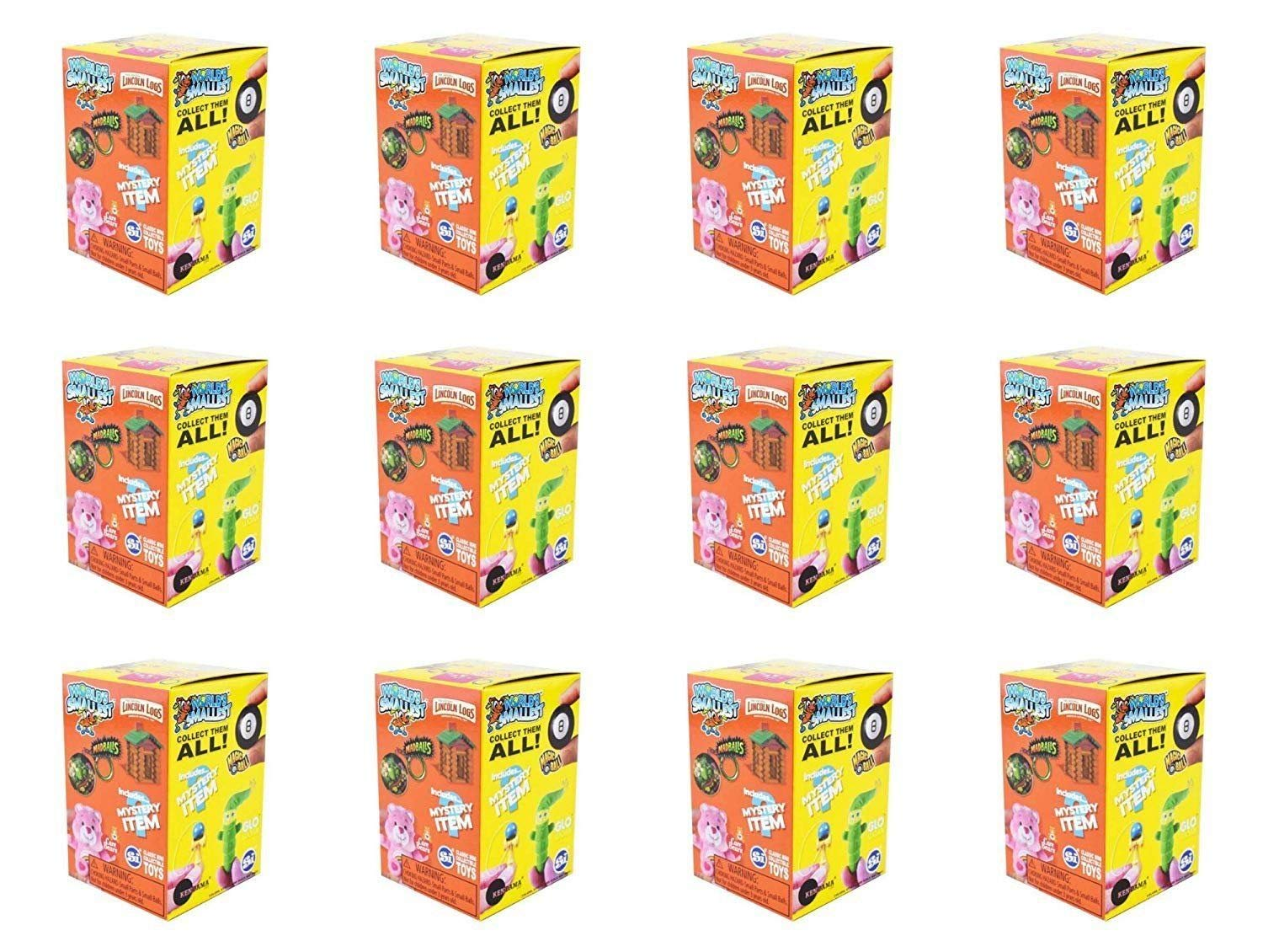 Worlds Smallest Classic Novelty Toy Series 2 Blind Boxes 12 Count