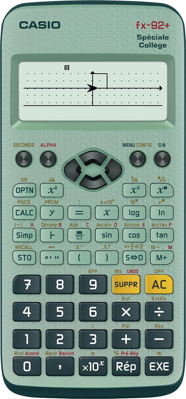 Calcolatrice Casio FX-92 Coll/ège2D