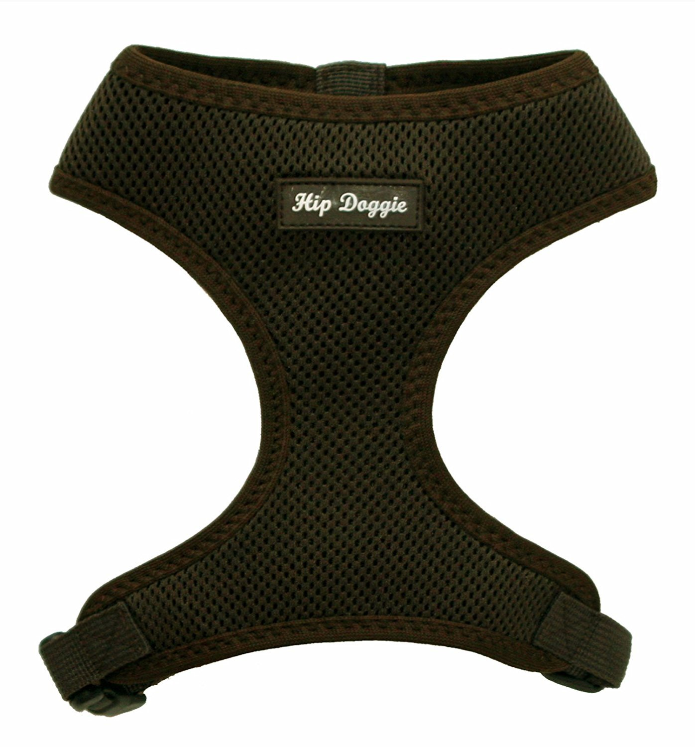 Hip Doggie Ultra Comfort Brown Mesh Harness Vest, Small