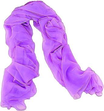 MONETTI Bufanda de mujer FIA 190 x 100 cm - un accesorio perfecto hecho de material sedoso muy fino - en la caja exclusiva un regalo ideal para las mujeres.