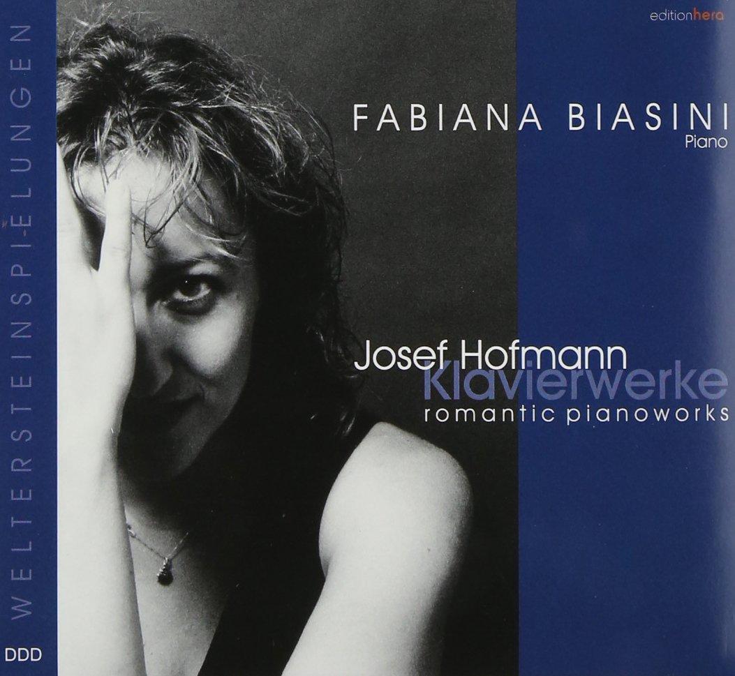 Department store Hofmann: Romantic Popular popular Works Piano