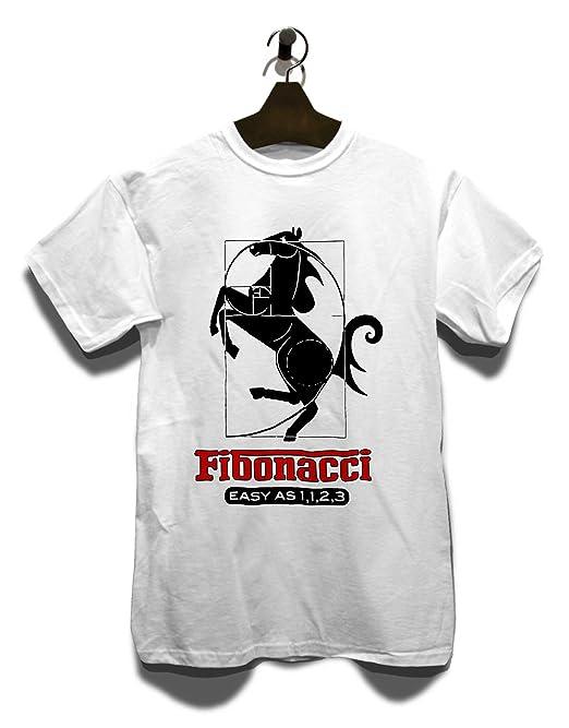 shirtminister Fibonacci Ferrari T-Shirt weiss-white S