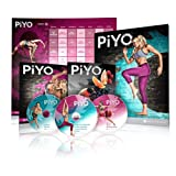 PiYo Kit - DVD Workout with Exercise Videos + Fitness Tools and Nutrition Guide