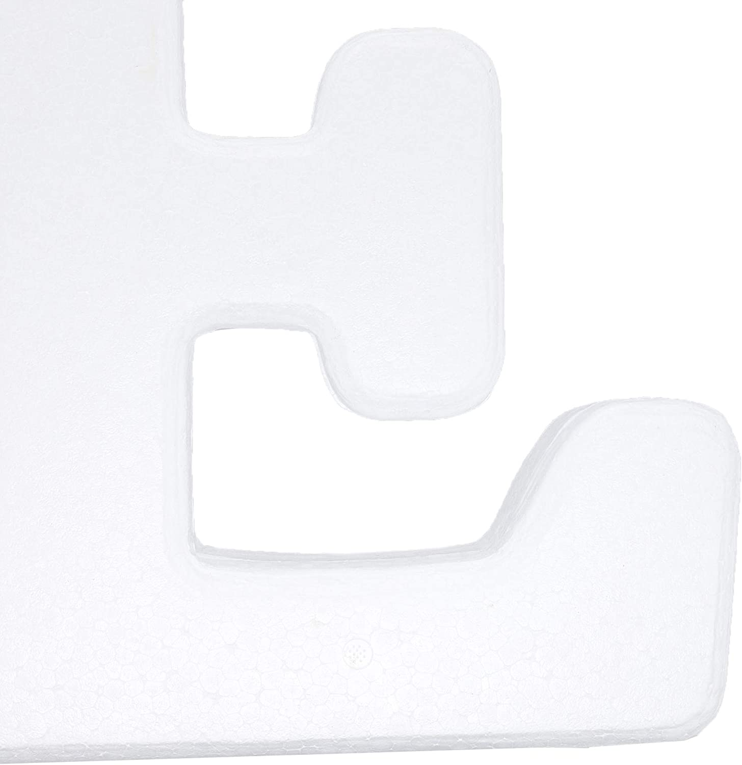12 Inches Bright Creations Foam Number 2 for DIY Crafts White