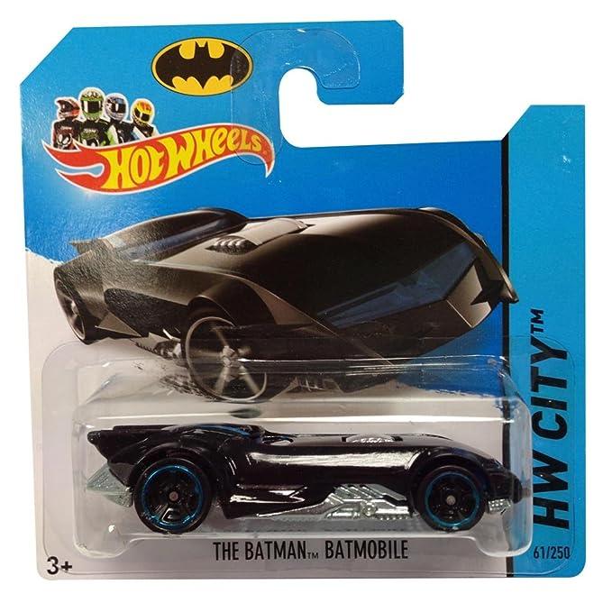 Hotwheels Diecast Car Hot Wheels The Batman Batmobile No. 61/250 HW City