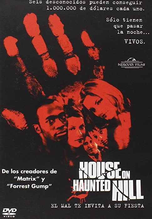 Los 12 House On Haunted Hill Blu Ray