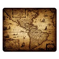 Onete Mouse Pads Old Map of America 1632 Vintage Mouse Pad 9.5