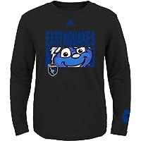 MLS DC United Primary Logo Fashion Fit Short Sleeve T-Shirt, 7-16 Girls