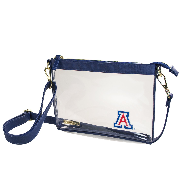 Capri Designs Clear Small Crossbody NFL Stadium Approved - University of Arizona Wildcats