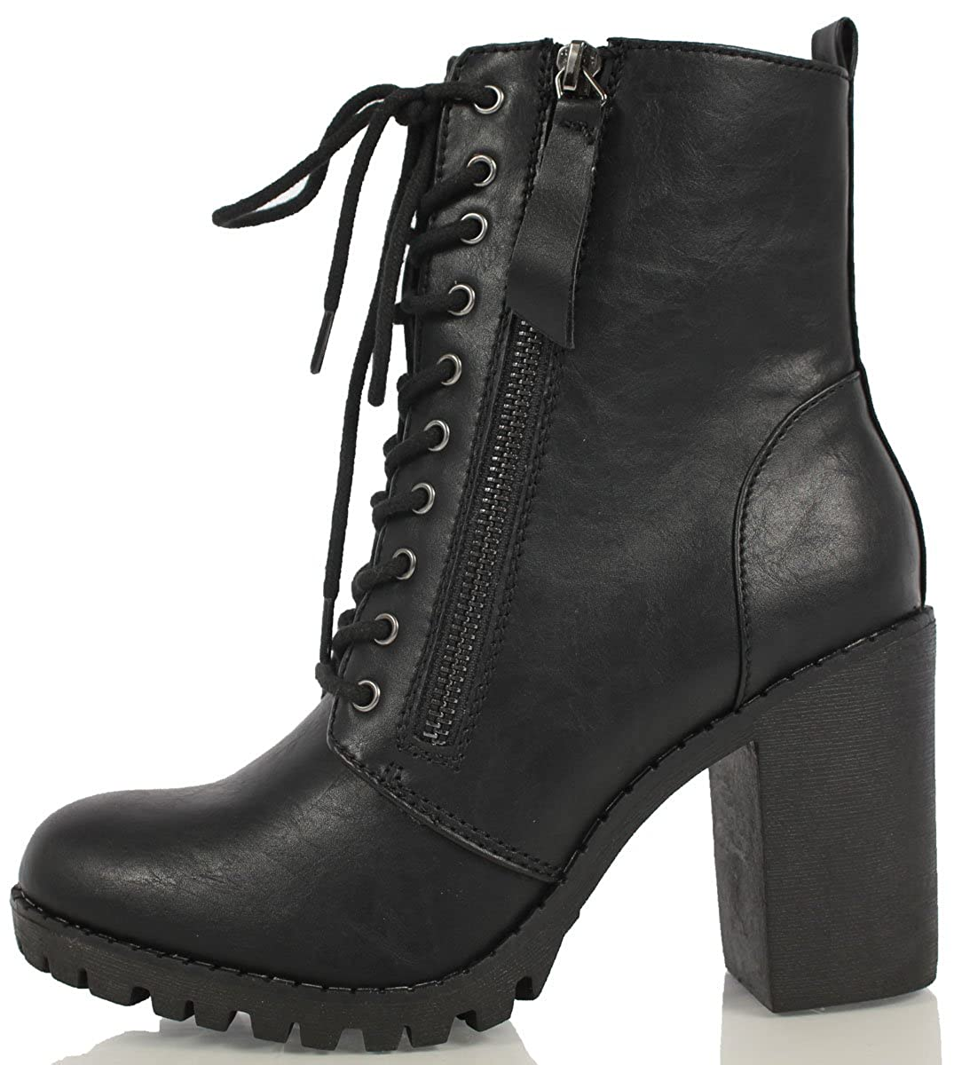 9f720e57618 Soda Women's Malia Combat Boot