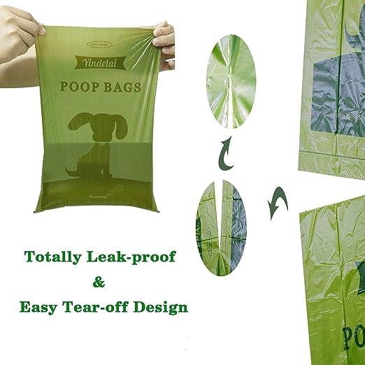 Yingdelai Bolsas para Excrementos de Perro 26 Rollos, Total 390 Bolsas Poop Bag para Perro Biodegradable Grandes Animales: Amazon.es: Productos para ...