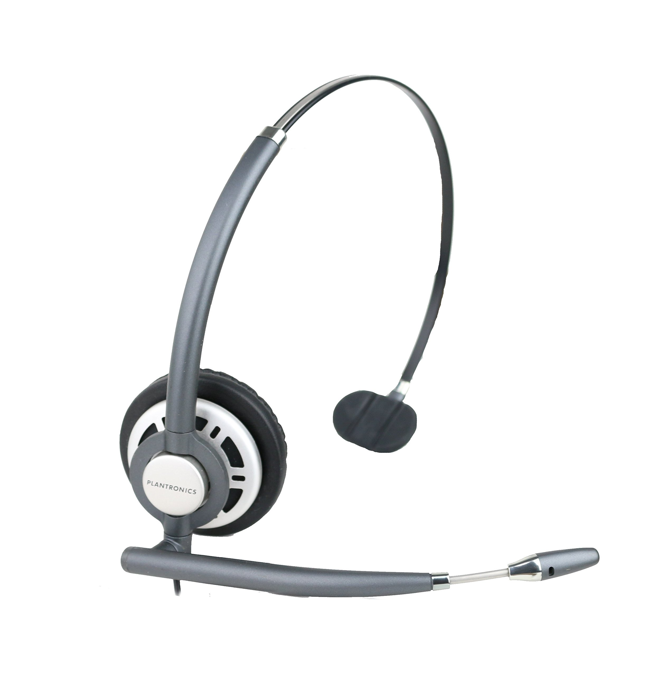 Plantronics HW710 Monaural Wired Office Headset (Renewed) by Plantronics