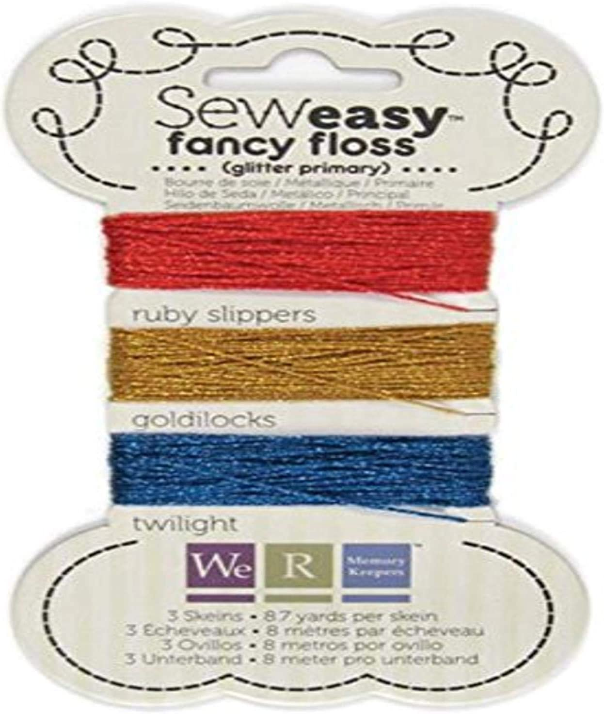 Neutral We R Memory Keepers Sew Easy Variegated Floss