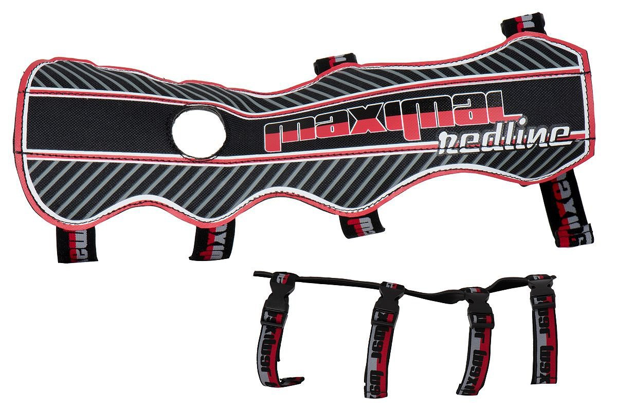 New Maximal Archery Long Adult Armguard Redline Double